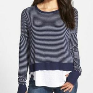 New Eileen Fisher Box Top Sweater PL